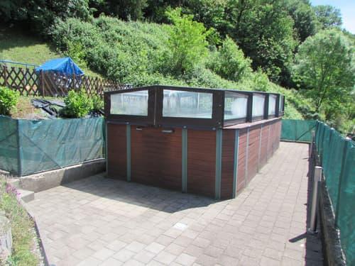Casa bifamiliare con giardino e piscina a Grancia