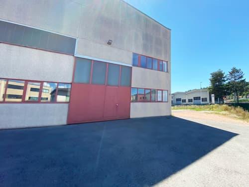 Stabio: Terreno con edificio artigianale/industriale