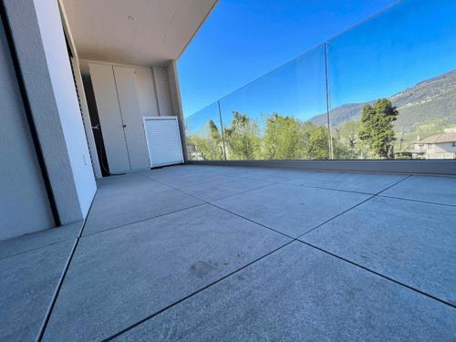 Cadempino - elegante ampio 3,5 con TERRAZZO e vista aperta