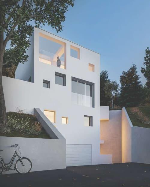 Terreno con progetto Villa unifamiliare