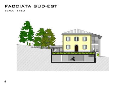 2,5 locali Appartamento 1 - Villa Novecento Gravesano - 4 unità abitative verranno create all'interno della Villa che manterrà le caratteristiche architettoniche.