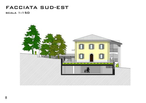 DUPLEX 5,5  locali Appartamento 2 - Villa Novecento Gravesano - 4 unità abitative verranno create all'interno della Villa che manterrà le caratteristiche architettoniche.
