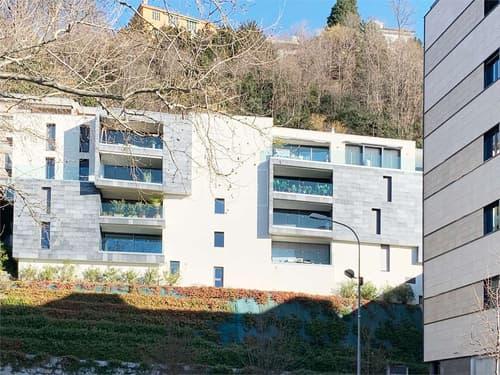 Lugano - Cassarate, attico su due livelli