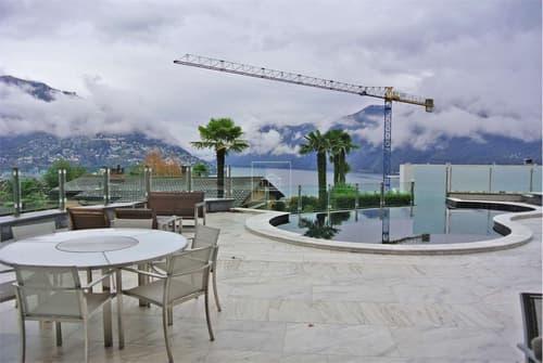 Lussuoso appartamento con vista lago