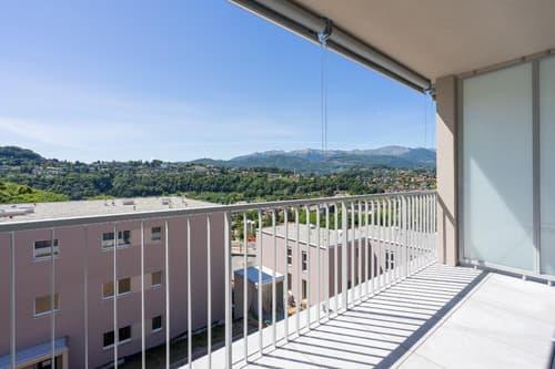 Residenza Verde. Ultimo nuovo 1,5 locali in affitto a Pazzallo
