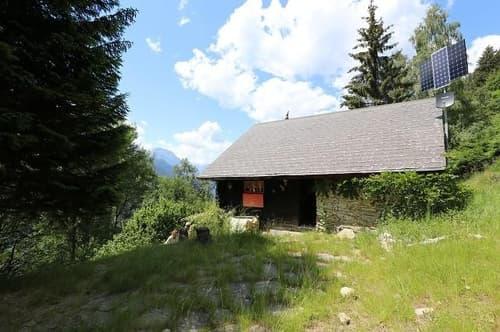 4 1/2-Zimmer-Rustico mit Garten an Alleinlage / rustico di 4 1/2 locali con giardino nella natura da solo (1)