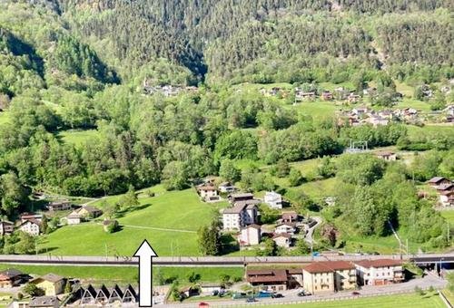 Bauland vom 1010m2 mit schöner Aussicht / terreno edificabile di 1010 m2