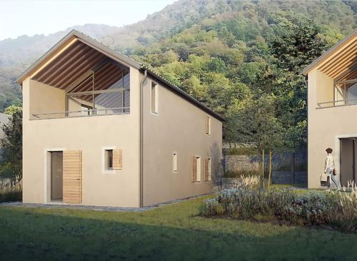 """Nuova costruzione """"Due Case - Vogorno"""" (Casa A) (1)"""