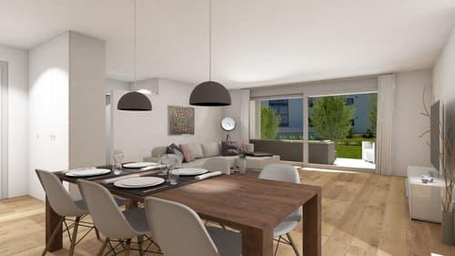 Ihre neue 3.5-Zimmer-Eigentumswohnung im Erdgeschoss