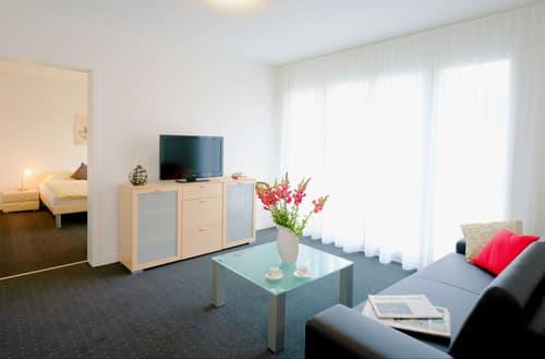 Möblierte 3-Zimmerwohnungen mit Balkon im Zentrum von Cham