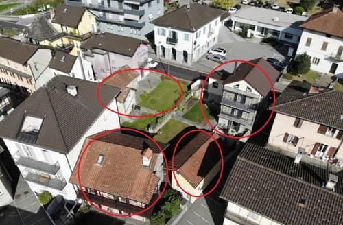 4 Häuser im Zentrum des Kerns, ruhig und nah an allen Annehmlichkeiten