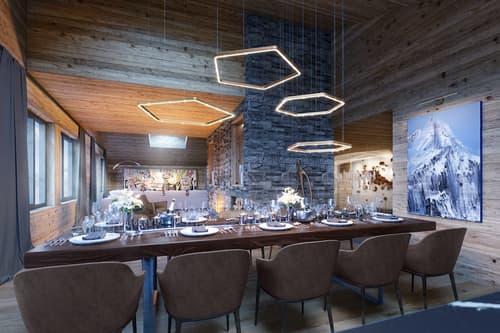 TurmfalkeSuites - 3.5 Zimmer Chalet Suite in den Schweizer Alpen