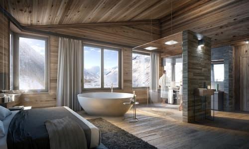 TurmfalkeSuites - Chalet Suites in den Schweizer Alpen (1)