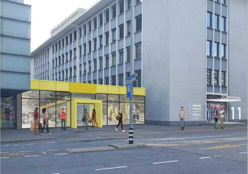 Gewerbefläche beim Bahnhof Chur