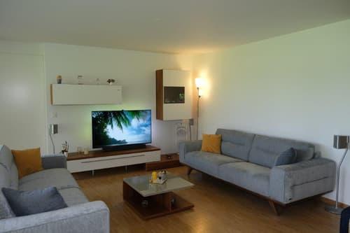 Wohnen im sonnigsten Teil von Walenstadt an eine geschützte Grünzone angrenzend mit Fernsicht.