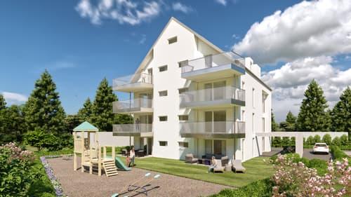 Neubau an sehr sonniger und ruhiger Lage *4.5 Zimmer Maisonette*