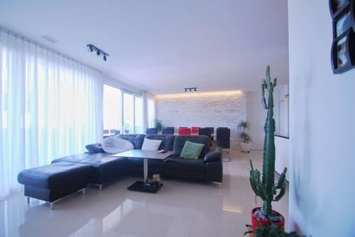 Mit hochwertigen Materialien ausgebaute Wohnung mit riesiger Terrasse
