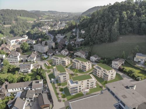 """Wohnsiedlung """"Im Hof"""" / 3.5-Zimmer-Wohnungen"""