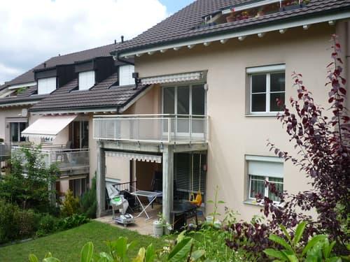 Grosszügige 3,5-Zimmer-Wohnung mit direktem Zugang zu Gartensitzplatz