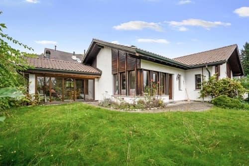 6-Zimmer-Wohnhaus mit Alpenblick