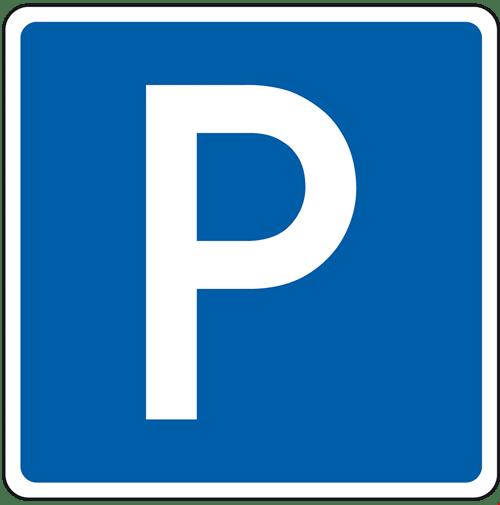 Motorradparkplatz in Immensee