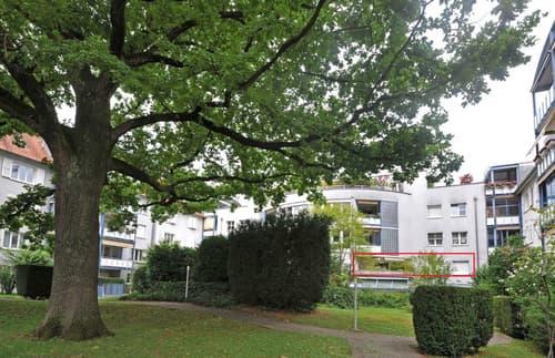 Moderne 3.5-Zi. Wohnung mit Cheminée150 m vom Neuweilerplatz