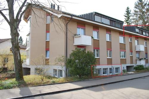 3.5-Zi. Wohnung mit separatem Atelier, Einstellhallenplatz, eigener Waschküche und Keller