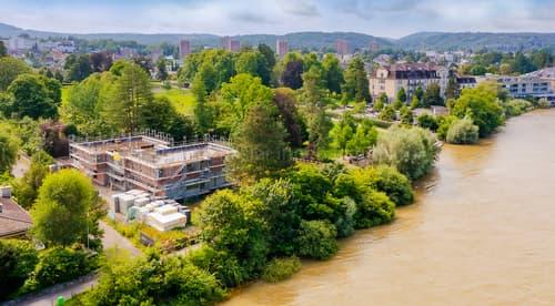 Wohnen direkt am Rhein - einzigartige Neubau-Liegenschaft zum Erstbezug