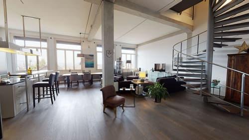 Deluxe 2,5-Zi-Loft-Maisonette-Wohnung