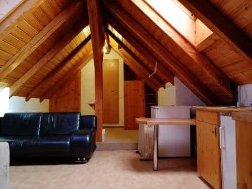 Gemütliche, rustikale 1.5 Zi-Dachwohnung