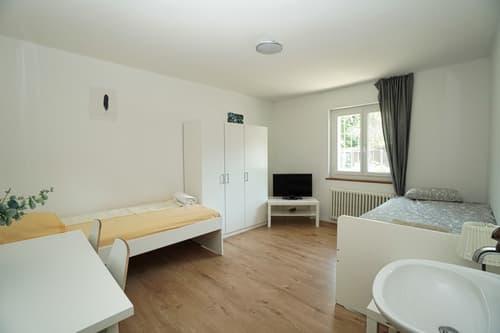 Praktisch möblierte Zimmer an bester Lage in Erlinsbach