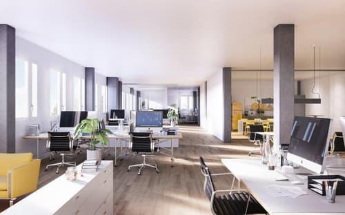 Individuell unterteilbare Büroflächen