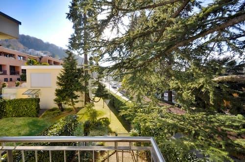 Moderno appartamento nel verde di Montagnola