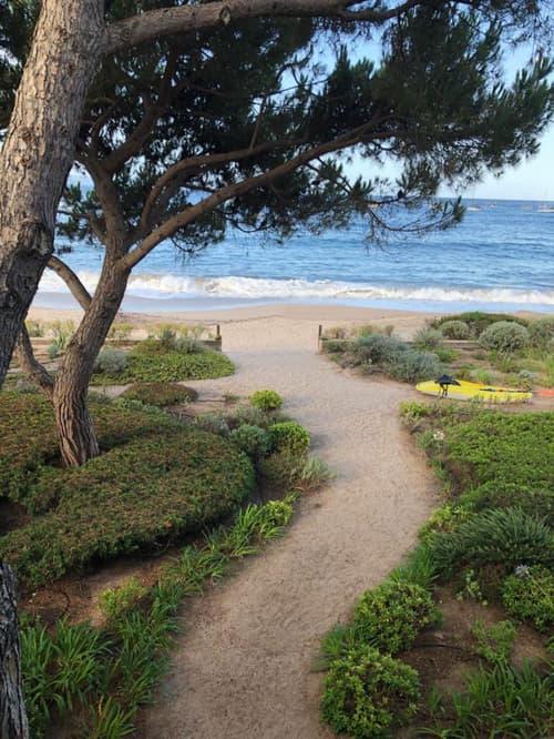 Magnifique villa pieds dans l'eau en Corse