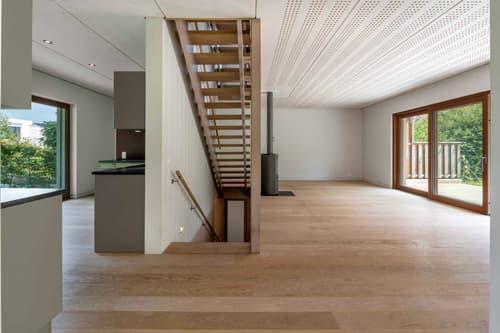 EN EXCLUSIVITE: Superbe villa contemporaine à Versoix de conception écologique - Certifiée Minergie ECO