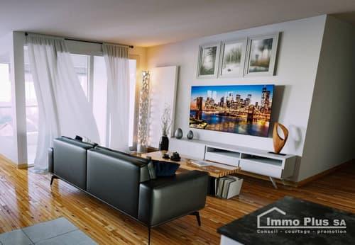 Denges, grand appartement traversant 3,5 pces, 95 m2, RENOVE