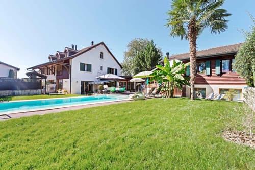 EXCLUSIVITE : Maison villageoise avec logement indépendant et piscine
