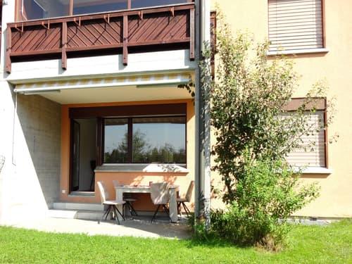 Wunderschöne 2.- Zimmerwohnung an ruhiger, idyllischer Hanglage