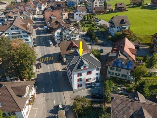 Wohn- und Geschäftshaus im Dorfkern von Schüpfheim