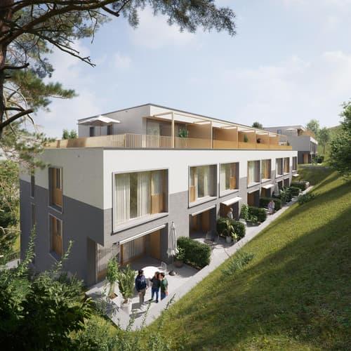 Üsers neue Dihei | 4.5-Zimmer-Reiheneinfamilienhaus im Quartier St. Georgen