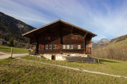 Original Simmentaler Bauernhaus mit Kur- Hotelparzelle