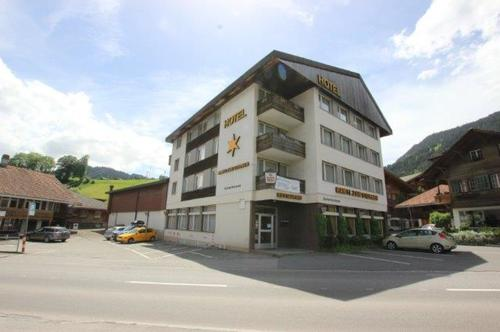 Hotel- Restaurant Liegenschaft Rawyl zum Sternen mit Personal-Chalet