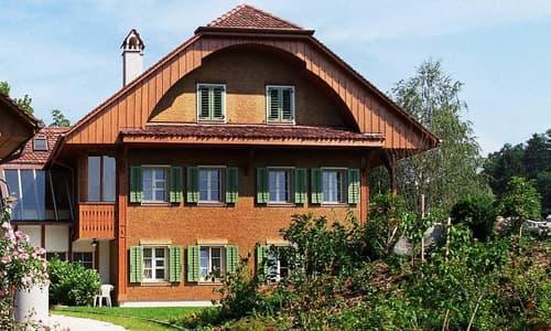 spezielle 3.5-Zi-Gartenwohnung im Stöckli