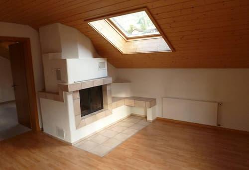 Gemütliche Dachwohnung mit eigenem Gartenanteil