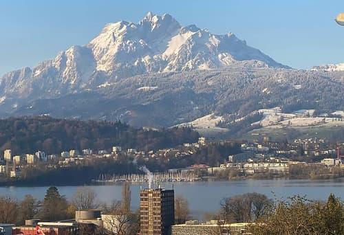 See- und Bergsicht