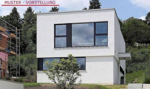 Kleines Haus nach Eigengestaltung am Brienzersee, Neubau ´23