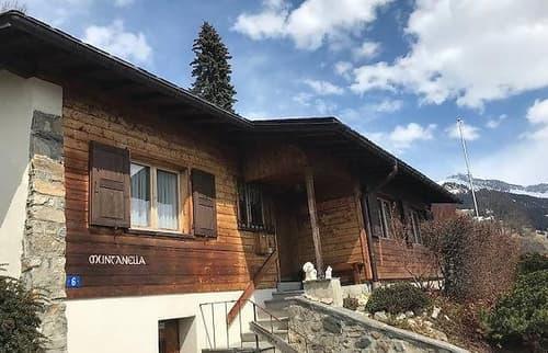 Sonniges 3.5 Zimmer-Einfamilienhaus in Pany mit unverbaubare