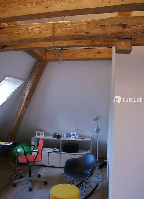 Exklusive Dachstudiowohnung mit separatem Zimmer
