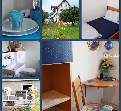 WG-Zimmer, Küche, Bad, gratis Parkplatz