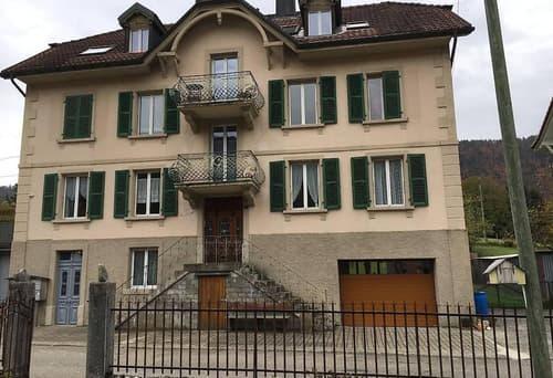 A louer à Cormoret bel appartement  3½ pièces av. terrasse